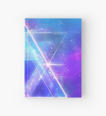 Space Vector 3 - Synth Galactic Vaporwave Hardcover Journal