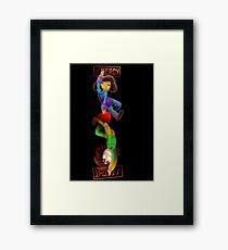 Mercy / ♥️ / Fight Framed Print