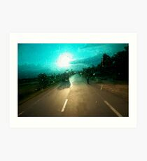 windscreen Art Print