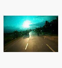 windscreen Photographic Print