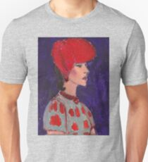 Red Hat Woman No #2 1940's Unisex T-Shirt