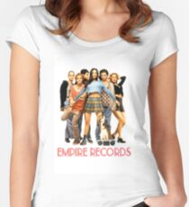 Empire Records Women's Fitted Scoop T-Shirt