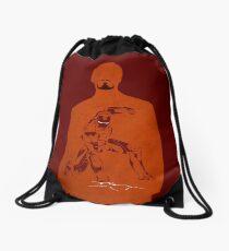 Iron Comic Drawstring Bag
