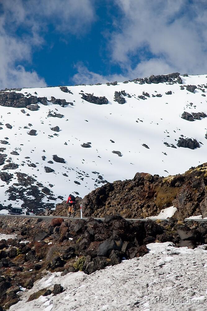 Mt Ruapehe by Rod Noendeng