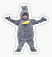 Pegatina Lindo BTS Jungkook Bunny