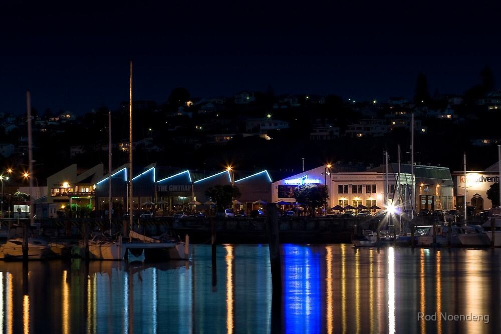 Night Lights - Hawkes Bay by Rod Noendeng