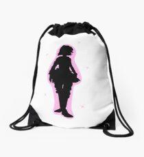 Tiny Tina Silhouette  Drawstring Bag