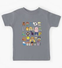 Child of the 80s Alphabet Kids Tee