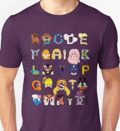 Child of the 80s Alphabet T-Shirt