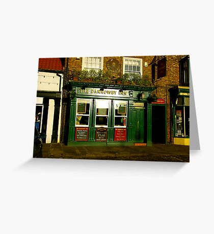 The Darrowby Inn - Thirsk North Yorkshire Greeting Card