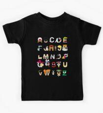 Child of the 60s Alphabet Kids Clothes
