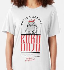 Father Servo's ROBO DOJO Slim Fit T-Shirt