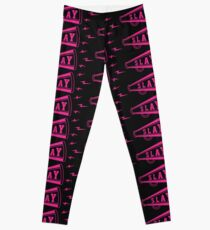 Slay Cheer Horn Cheerleading Design  Leggings