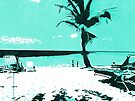 "Tropical Palm Tree by Christine ""Xine"" Segalas"