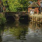 Quayside Exeter, Devon. UK by hans p olsen