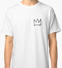 Black Basquiat Crown Classic T-Shirt