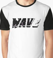 Wave(Corrupted) Graphic T-Shirt