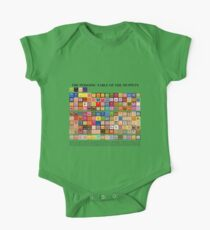 Periodic Table of the Muppets One Piece - Short Sleeve