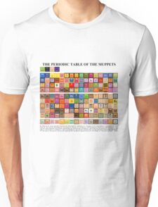 Periodic Table of the Muppets Unisex T-Shirt