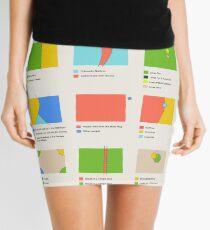 9 Ways to Divide Colorado - Prints Mini Skirt