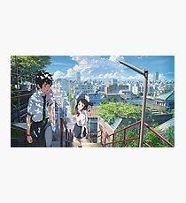 kimi no na wa // your name HIGHEST RES Photographic Print