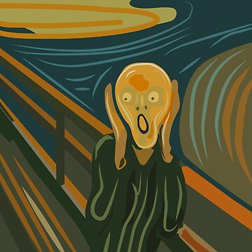 The Scream homage to Edvard Munch by iopan