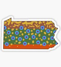 Pennsylvania Brook Trout Sticker