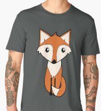 Fun Red Fox Cartoon  Men's Premium T-Shirt