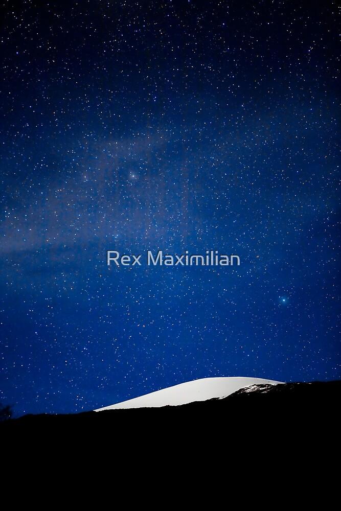 Moonlit Mauna Kea Summit by Rex Maximilian