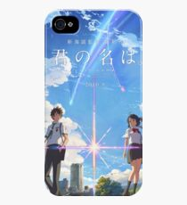 kimi no na wa // your name poster with text BEST RES iPhone 4s/4 Case