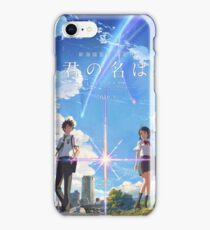 kimi no na wa // your name poster with text BEST RES iPhone 8 Case