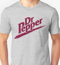 Dr Pepper 90s White Background Unisex T-Shirt