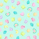 Kawaii Pastel Charms Theme by arealprincess