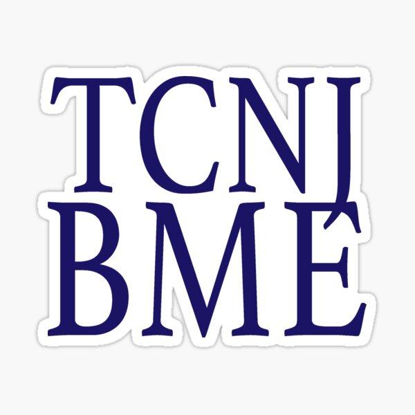 TCNJ BME #4 Sticker