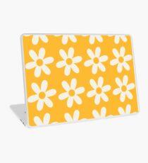 Two-Tone Daisy Pattern Laptop Skin
