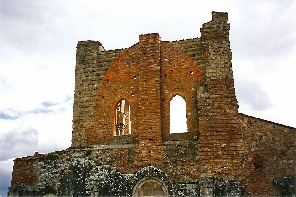 Ruins of the Abbey of San Galgano - Tuscany by presbi