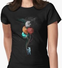 The Spaceman's Trip Fitted T-Shirt