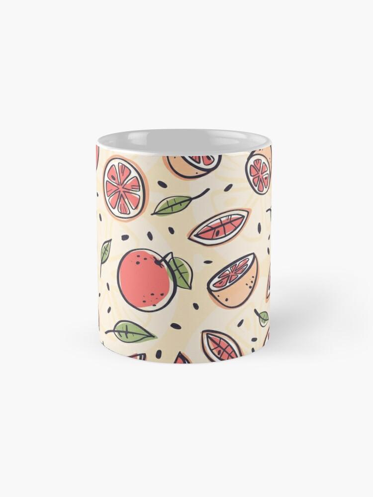 Vista alternativa de Taza Pomelo rojo para el desayuno
