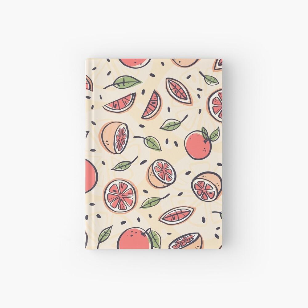 Pomelo rojo para el desayuno Cuaderno de tapa dura