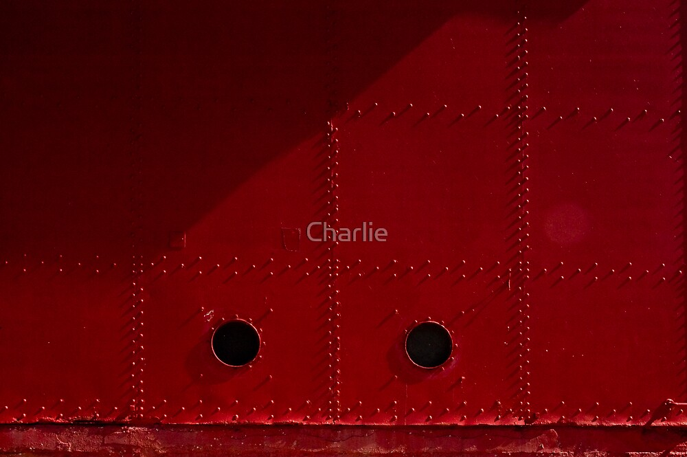 Big Red, detail by Charlie