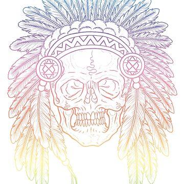 Skull Headdress by asplashofcolor