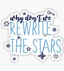 Rewrite the Stars-Greatest Showman Sticker
