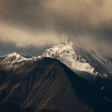 Moody Mountain by Martsam