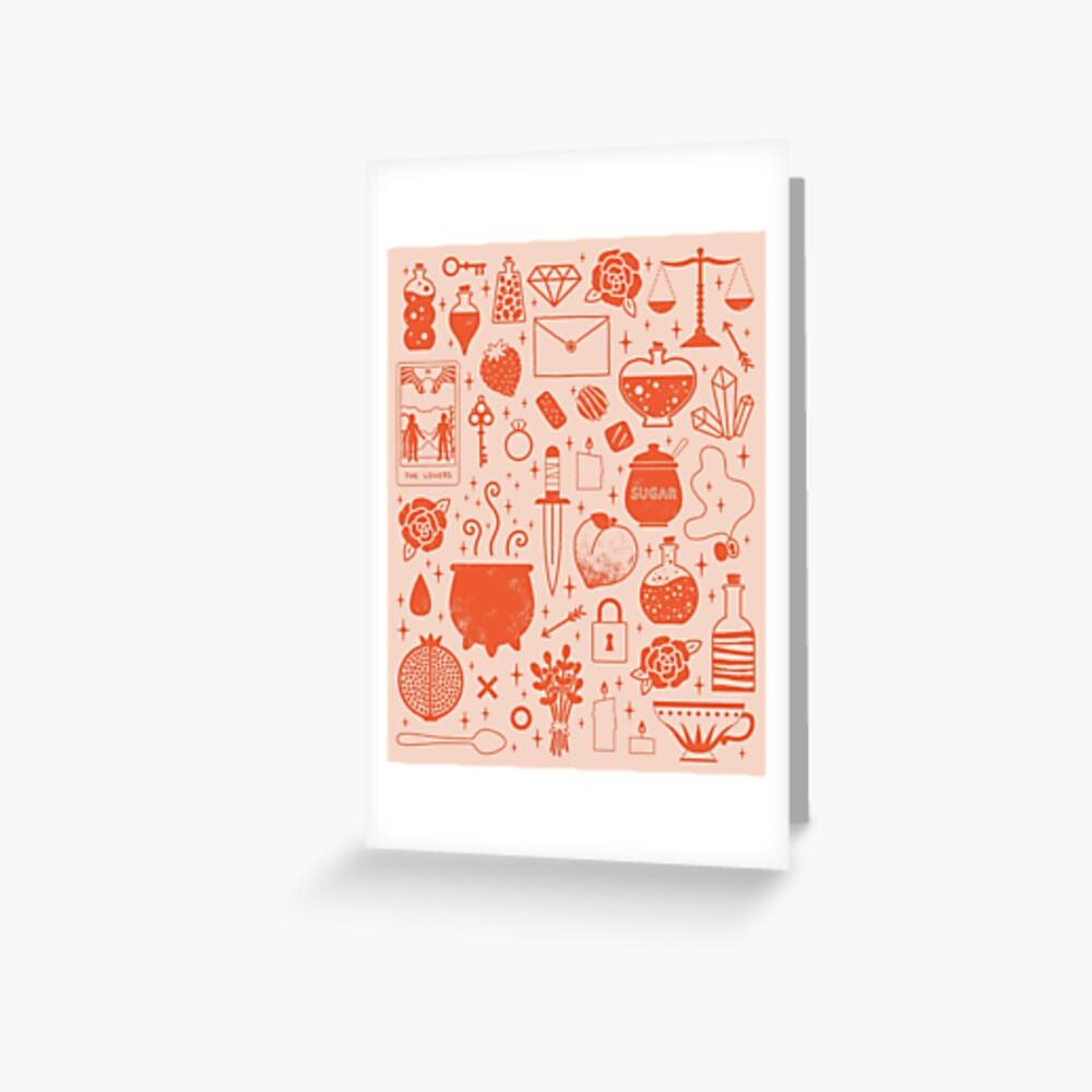 Love Potion: Valentine Greeting Card