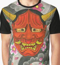 Hannya Graphic T-Shirt