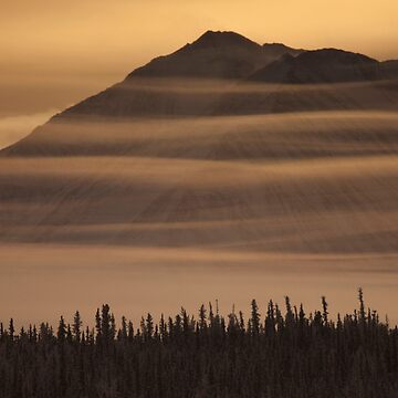 Wispy Mountains by Martsam