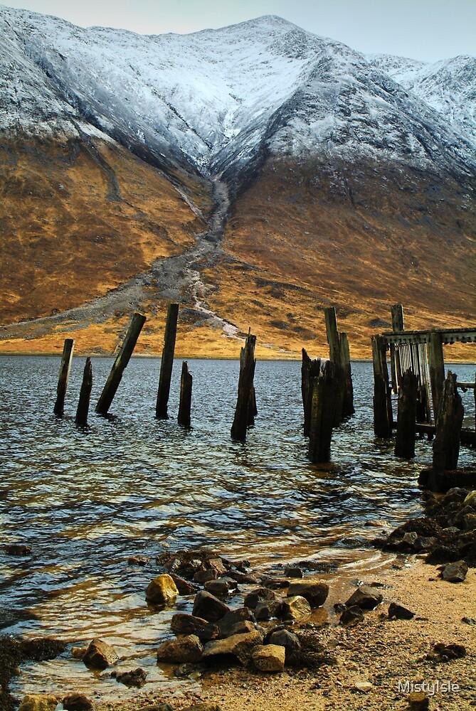 The Old Pier Loch Etive by MistyIsle