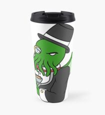Gentlemanly Cthulhu Travel Mug
