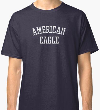 American Eagle (White) Classic T-Shirt