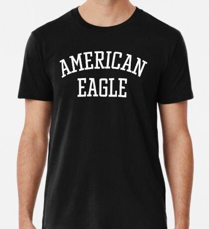 American Eagle (White) Premium T-Shirt